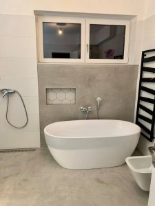 Dekorbeton Fürdőszoba