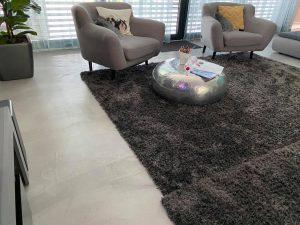 modern dekorbeton otthon